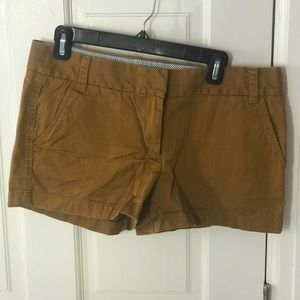 JCrew Tan Broken In Chino Shorts